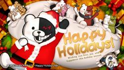 Happy Holidays Mix Monokuma