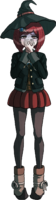 Danganronpa V3 Himiko Yumeno Fullbody Sprite (5)
