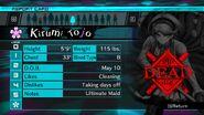 Kirumi Tojo Report Card (Deceased)