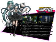 Tsumugi Shirogane Danganronpa V3 Official Japanese Website Profile