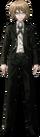 Danganronpa 1 Byakuya Togami Fullbody Sprite (PSP) (5)