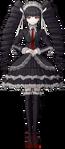 Danganronpa 1 Celestia Ludenberg Fullbody Sprite (PSP) (17)