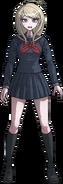 Danganronpa V3 Kaede Akamatsu Fullbody Sprite (High School Uniform) (3)