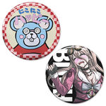 Miu Iruma's NikoNiko Happy Nezumi Yarou Can Badge Set