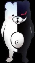 Danganronpa 2 Monokuma Fullbody Sprite (PSP) (8)