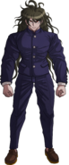 Danganronpa V3 Gonta Gokuhara Fullbody Sprite (High School Uniform) (1)