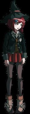 Danganronpa V3 Himiko Yumeno Fullbody Sprite (26)