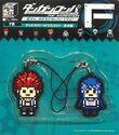 FuRyu Minna no Kuji Dot Rubber Mascots Leon Kuwata and Sayaka Maizono