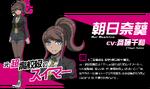 Promo Profiles - Danganronpa 3 Future Arc (Japanese) - Aoi Asahina