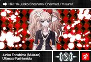 Danganronpa V3 Bonus Mode Card Mukuro Ikusaba N ENG