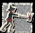 Danganronpa V3 Himiko Yumeno Death Road of Despair Sprite (Hammer) 09