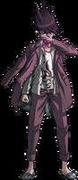 Danganronpa V3 Kaito Momota Fullbody Sprite (32)