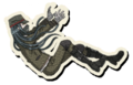 Danganronpa V3 Korekiyo Shinguji Death Road of Despair Sprite 05