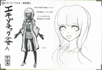 Art Book Scan Danganronpa V3 Character Designs Betas Angie Yonaga (4)