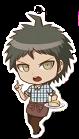 Danganronpa 1.2 Reload x Sweets Paradise Keychain Hajime Hinata