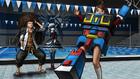 Danganronpa 1 CG - Aoi Asahina trying on the Robo Justice suit (English)
