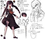 Danganronpa 1 Character Design Profile Genocide Jack