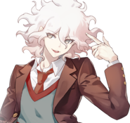 Girls Gun 2 x Danganronpa Game Nagito Komaeda