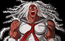 Danganronpa 1 Sakura Ogami Halfbody Sprite (PSP) (9)