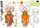 Danganronpa 2 Character Design Profile Hiyoko Saionji