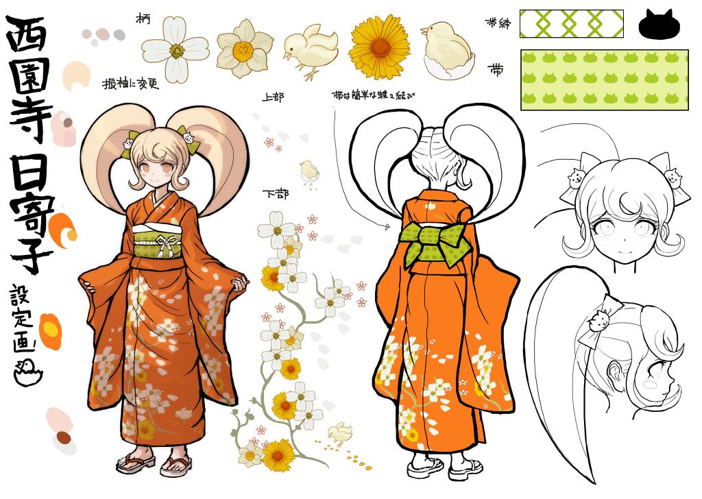 Character Design Kawaii : Gallery hiyoko saionji danganronpa wiki fandom powered