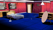Makoto's bedroom dorm rooms crime scene