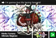 Danganronpa V3 Bonus Mode Card Himiko Yumeno U ENG