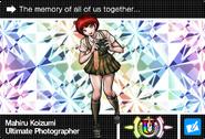 Danganronpa V3 Bonus Mode Card Mahiru Koizumi U ENG