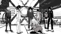 Danganronpa V3 CG - Miu Iruma begging for the other students to go into the Neo World Program (2)