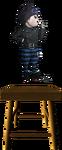 Danganronpa V3 Ryoma Hoshi Fullbody Sprite (Debate Scrum) (2)