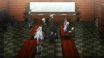 Danganronpa the Animation (Episode 08) - The students talking to Alter Ego (57)