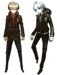 Makoto Naegi Beta Designs Visual Fanbook
