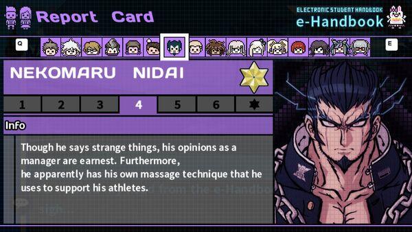 Nekomaru Nidai's Report Card Page 4
