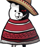 Danganronpa 2 Hidden Monokuma Halfbody Sprite (PSP) (3)