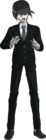 Danganronpa V3 Shuichi Saihara Fullbody Sprite (High School Uniform) (4)