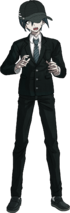 Danganronpa V3 Shuichi Saihara Fullbody Sprite (High School Uniform) (4)