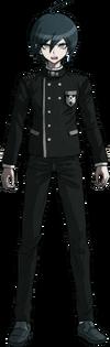 Danganronpa V3 Shuichi Saihara Fullbody Sprite (No Hat) (37)