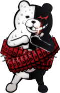 Danganronpa 2 Monokuma Fullbody Sprite 16