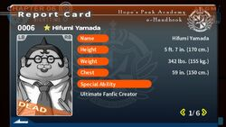 Hifumi Yamada's Report Card (Deceased)