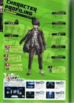Art Book Scan Danganronpa V3 Kaito Momota Character Profiling
