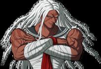 Danganronpa 1 Sakura Ogami Halfbody Sprite (PSP) (8)