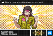 Danganronpa V3 Bonus Mode Card Kazuichi Soda S ENG