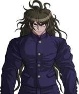 Danganronpa V3 Gonta Gokuhara Halfbody Sprite (High School Uniform) (1)