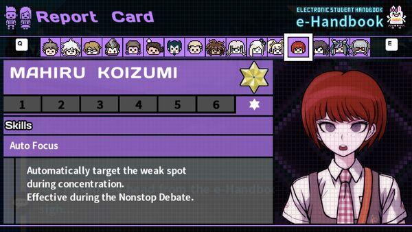 Mahiru Koizumi's Report Card Page 7