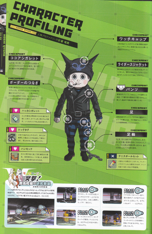 File:Art Book Scan Danganronpa V3 Ryoma Hoshi Character Profiling.png