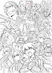 Danganronpa The Stage - Lerche Twitter Sketches - Cast