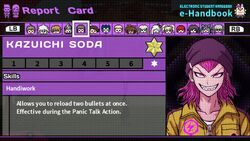 Kazuichi Soda Report Card Skill