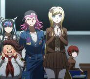 Mahiru, Sonia, Kazuichi, Teruteru Ibuki