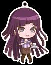 Danganronpa 1.2 Reload x Sweets Paradise Keychain Mikan Tsumiki