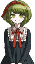 Danganronpa Another Episode Monaca Towa Halfbody Sprite (Vita) (1)